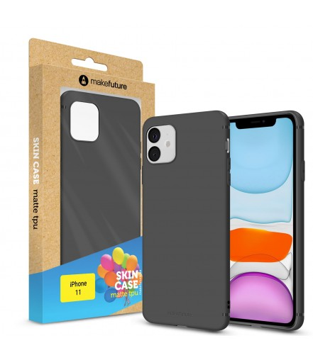 Кейс MakeFuture Apple iPhone 11 Skin Black