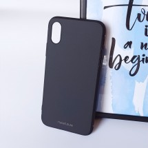 Кейс MakeFuture Skin Apple iPhone X Black