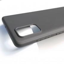 Кейс MakeFuture Skin Samsung A71 Black