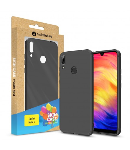 Кейс MakeFuture Xiaomi Redmi Note 7 Skin Black