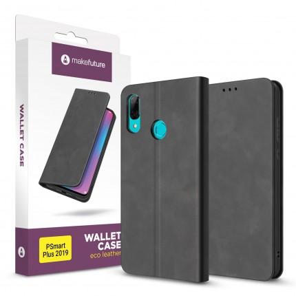 Чохол-книжка MakeFuture Wallet Case (ECO Leather) Huawei P Smart Plus 2019 Black