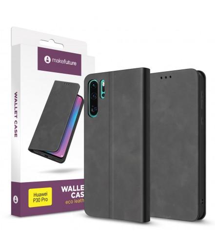 Чохол-книжка MakeFuture Huawei P30 Pro Wallet Case (ECO Leather) Black