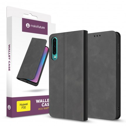 Чохол-книжка MakeFuture Huawei P30 Wallet Case (ECO Leather) Black