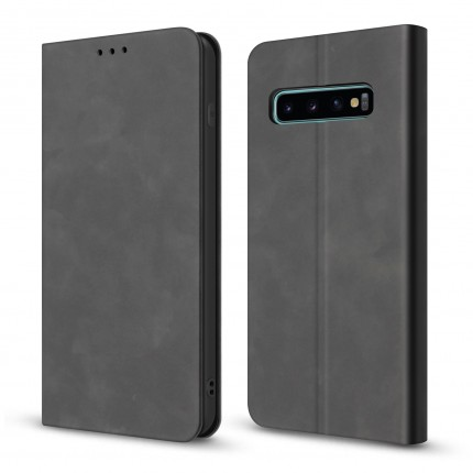 Чохол-книжка MakeFuture Wallet Case (ECO Leather) Samsung S10 Black