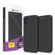 Чохол-книжка MakeFuture Flip Case Samsung A51 Black