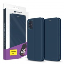 Чохол-книжка MakeFuture Flip Case Samsung A71 Blue