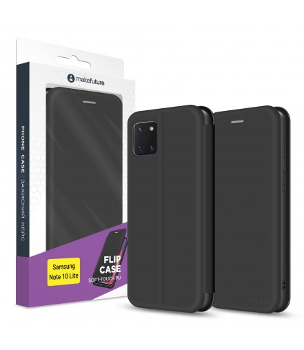 Чохол-книжка MakeFuture Flip Case Samsung Note 10 Lite Black