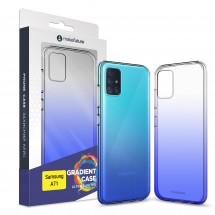 Кейс MakeFuture Air Gradient Samsung A71 Blue