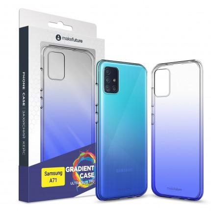 Кейс MakeFuture Air Gradient Samsung A71 Blue