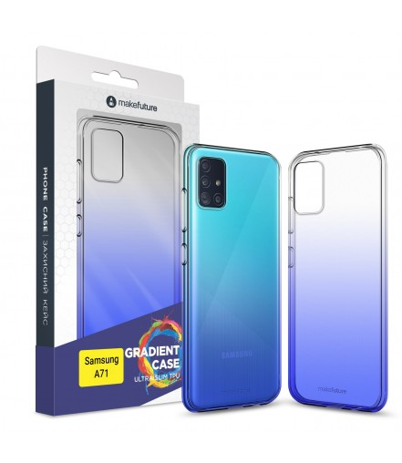 Кейс MakeFuture Gradient Samsung A71 Blue