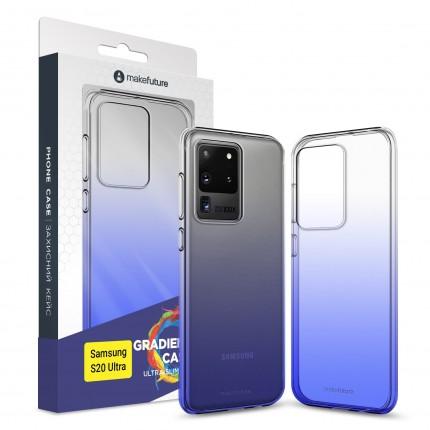 Кейс MakeFuture Air Gradient Samsung S20 Ultra Blue