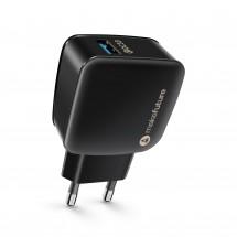 Зарядний пристрій мережевий MakeFuture 1USB (3A) Black