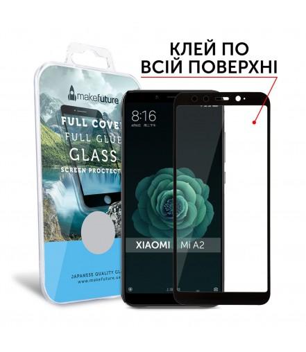 Захисне скло MakeFuture Xiaomi MiA2 (Mi6X) Full Cover Full Glue Black