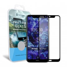 Захисне скло MakeFuture Nokia 5.1 Plus Full Cover Full Glue