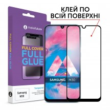 Захисне скло MakeFuture Full Cover Full Glue Samsung M30