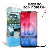 Захисне скло MakeFuture Full Cover Full Glue Honor 10 Lite Black