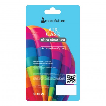 Кейс MakeFuture Air Samsung A6 2018 Clear