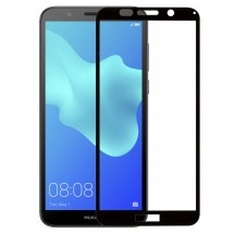 Захисне скло MakeFuture Full Cover Huawei Y5 2018 Black