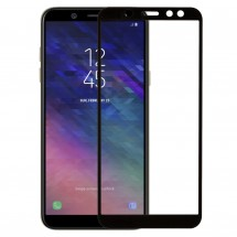 Захисне скло MakeFuture Full Cover Full Glue Samsung A6 2018 Black
