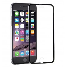 Захисне скло MakeFuture Apple iPhone 7 Plus Metal Edge Black