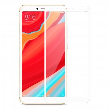 Захисне скло MakeFuture Full Cover Full Glue Xiaomi Redmi S2 White