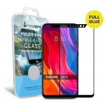 Захисне скло MakeFuture Full Cover Full Glue Xiaomi Mi8 Black