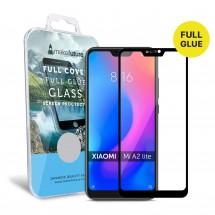 Захисне скло MakeFuture Full Cover Full Glue Xiaomi MiA2 Lite Black
