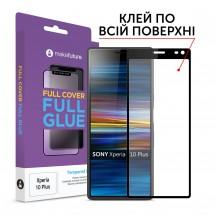 Захисне скло MakeFuture Full Cover Full Glue Sony Xperia 10 Plus