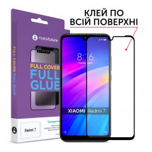 Захисне скло MakeFuture Full Cover Full Glue Xiaomi Redmi 7