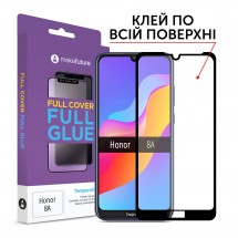 Захисне скло MakeFuture Full Cover Full Glue Honor 8A