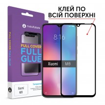 Захисне скло MakeFuture Full Cover Full Glue Xiaomi Mi9