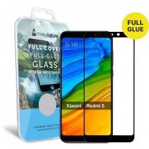Захисне скло MakeFuture Full Cover Full Glue Xiaomi Redmi 5 Black