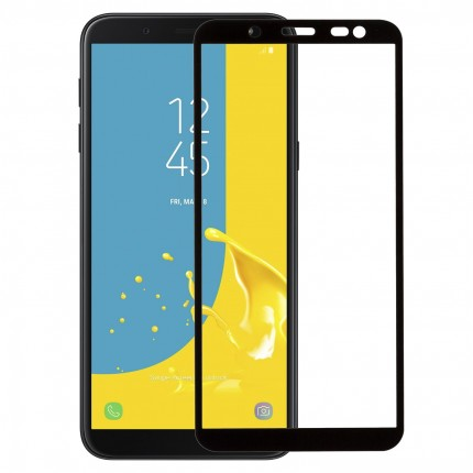 Захисне скло MakeFuture Full Cover Samsung J6 (2018) Black