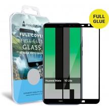 Захисне скло MakeFuture Full Cover Full Glue Huawei Mate 10 Lite Black