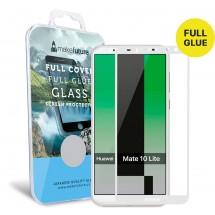 Захисне скло MakeFuture Full Cover Full Glue Huawei Mate 10 Lite White