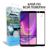 Захисне скло MakeFuture Samsung A9 2018 (A920) Full Cover Full Glue Black