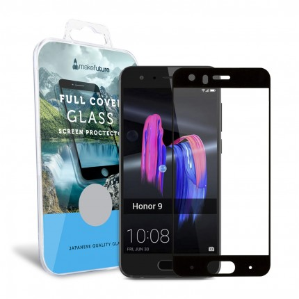Захисне скло MakeFuture Full Cover Honor 9 Black