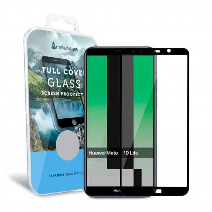 Захисне скло MakeFuture Full Cover Huawei Mate 10 Lite Black