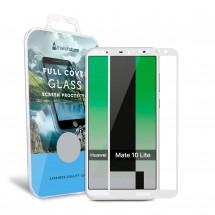 Захисне скло MakeFuture Full Cover Huawei Mate 10 Lite White
