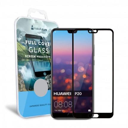 Захисне скло MakeFuture Full Cover Huawei P20 Black