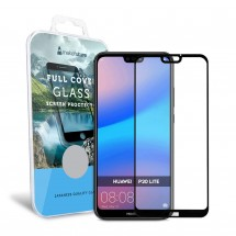 Захисне скло MakeFuture Full Cover Huawei P20 Lite Black