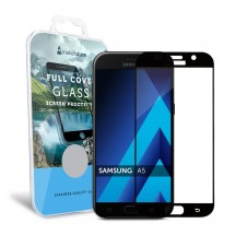 Захисне скло MakeFuture Full Cover Samsung A5 2017 (A520) Black