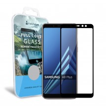 Захисне скло MakeFuture Full Cover Samsung A8 Plus 2018 Black