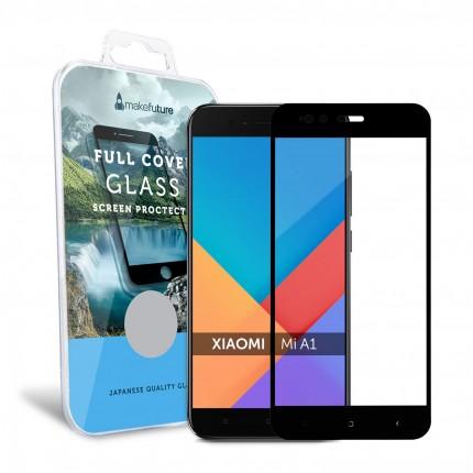 Захисне скло MakeFuture Full Cover Xiaomi MiA1 (5X) Blacк