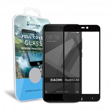 Захисне скло MakeFuture Full Cover Xiaomi Redmi 4X Black