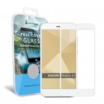 Захисне скло MakeFuture Full Cover Xiaomi Redmi 4X White