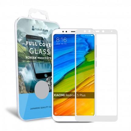 Захисне скло MakeFuture Full Cover Xiaomi Redmi 5 Plus White