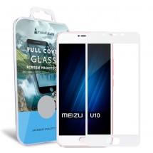 Захисне скло MakeFuture Full Cover Meizu U10 White