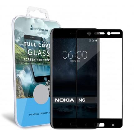 Захисне скло MakeFuture Full Cover Nokia 6 Black