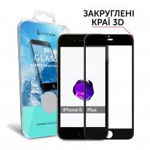 Захисне скло MakeFuture 3D Apple iPhone 6/6s Plus Black